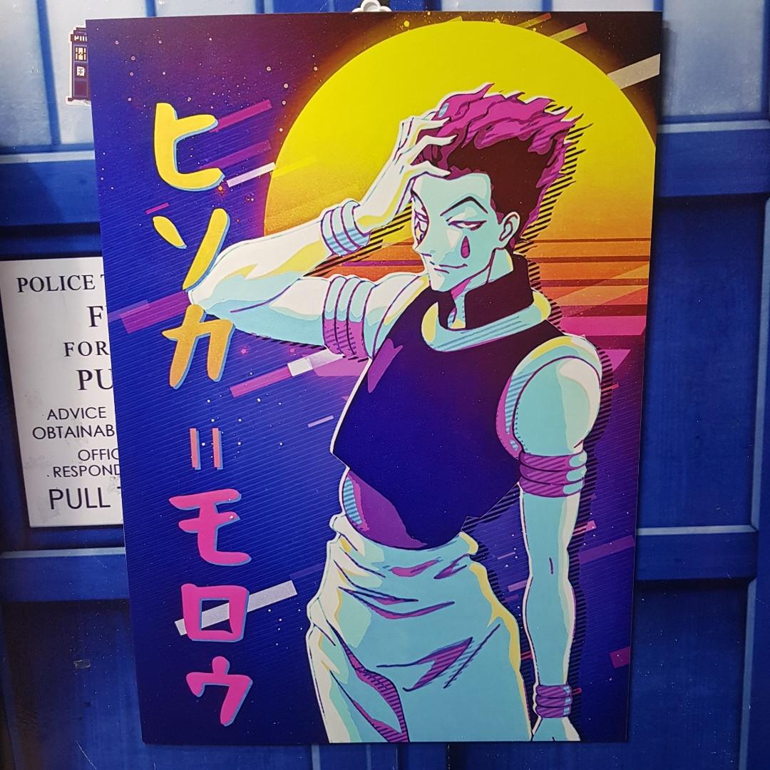 Постер Хисока - Hunter x Hunter