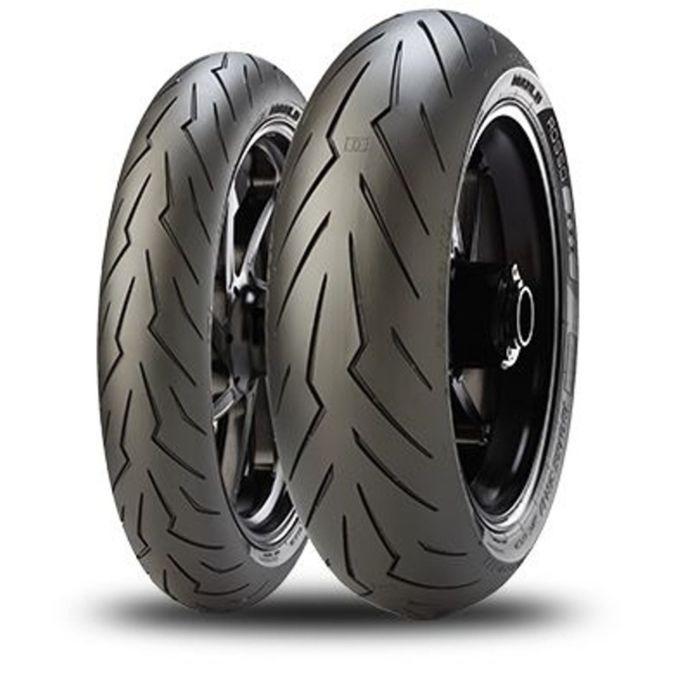 Мотошина Pirelli Diablo Rosso III 160/60 R17 69W TL Rear Спорт