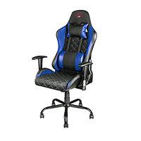 Trust Игровое кресло GXT 707B Resto синий компьютерная мебель (60414)