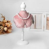 Подставка для урашений 'Силуэт' бюст, h36 см, цвет розовый
