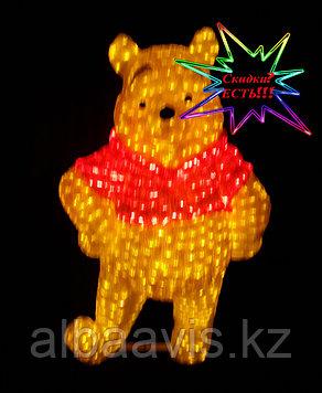 """Фигура уличная светящаяся светодиодная акриловая 3D """"Винни"""""""