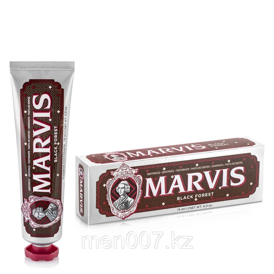 Marvis зубная паста Black Forest (вкус: вишня в шоколаде + нежная мята) 75 мл