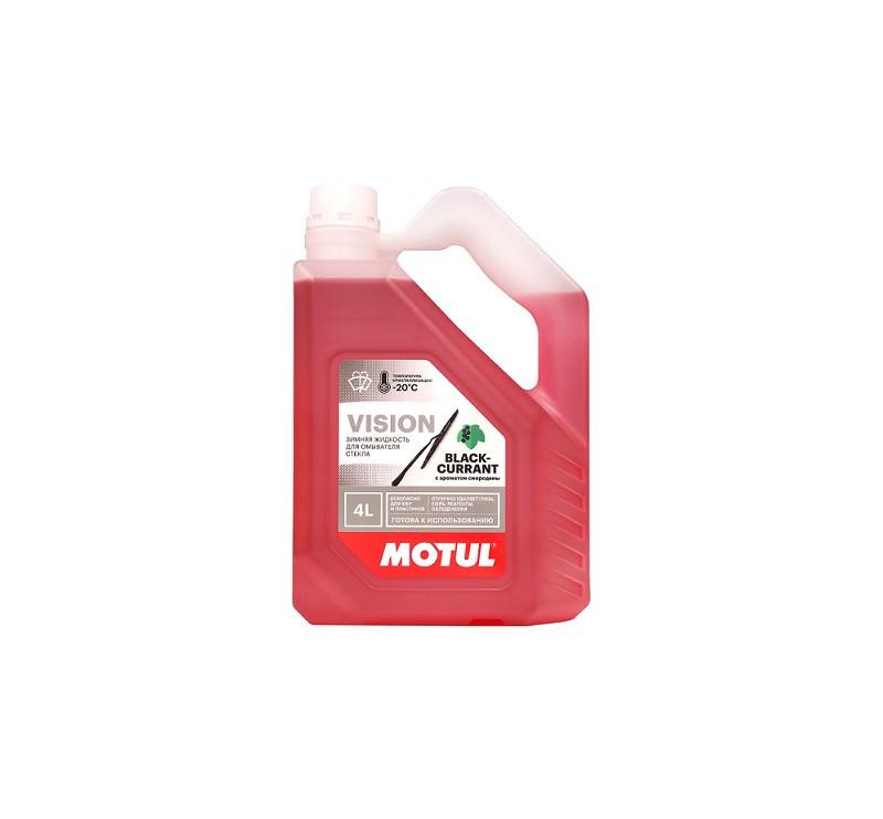 MOTUL -20(Незамерзайка) Зиминяя жидкость для омывателя стекла  4L с ароматом смородины