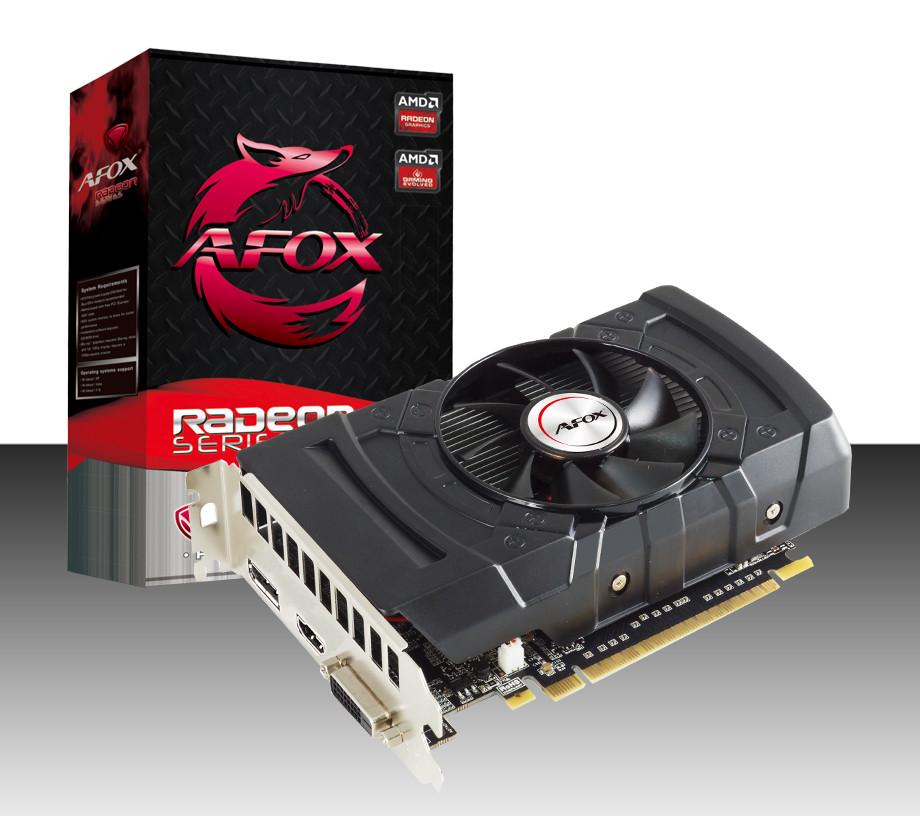 Видеокарта RX 550/4GB GDDR5 128-bit, AFOX