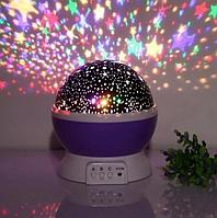 Вращающийся ночник-проектор