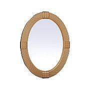 Овальное зеркало настенное 79х60 см CLK979