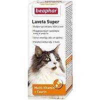 Витамины Beaphar 'Laveta super' для кошек, при выпадении шерсти, 50 мл (комплект из 2 шт.)