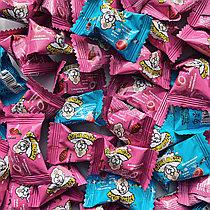 Кислые конфеты ВЗРЫВ МОЗГА со вкусом ледяная вишня, клубника 3 гр. (166 шт в упаковке)