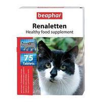 Витамины Beaphar 'Renaletten' для кошек, при болезнях почек, 75 шт (комплект из 4 шт.)