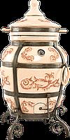 Тандыр «Персидский» Цвет: Слоновая кость/Черный