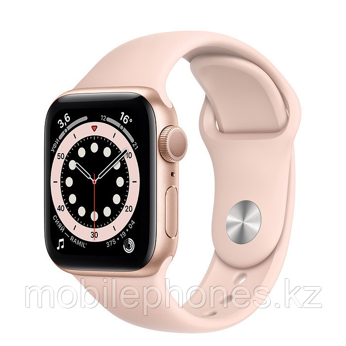 Apple Watch Series 6 40mm Золотые