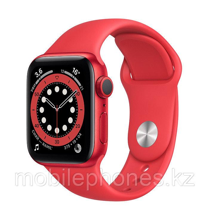 Apple Watch Series 6 40mm Красные