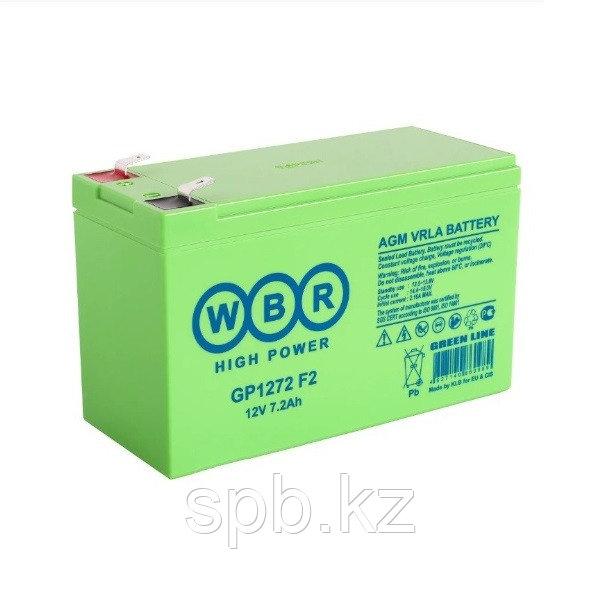 Аккумуляторная батарея WBR GP1272 F2 12V 7.2Ah
