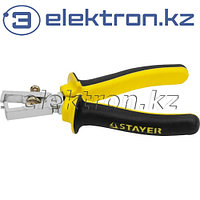 """Плоскогубцы STAYER """"MASTER"""" для зачистки проводов, до 10мм2, 160мм, ( 2260-16_z01 )"""