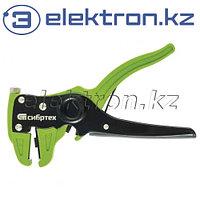 Щипцы для зачистки электропроводов, сечением: 0.2-3.5 мм2, функция обрезания проводов Сибртех 17731