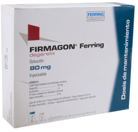 Фирмагон (Firmagon) дегареликс (degarelix) 80 мг лиоф. д/приг. р-ра (Европа)