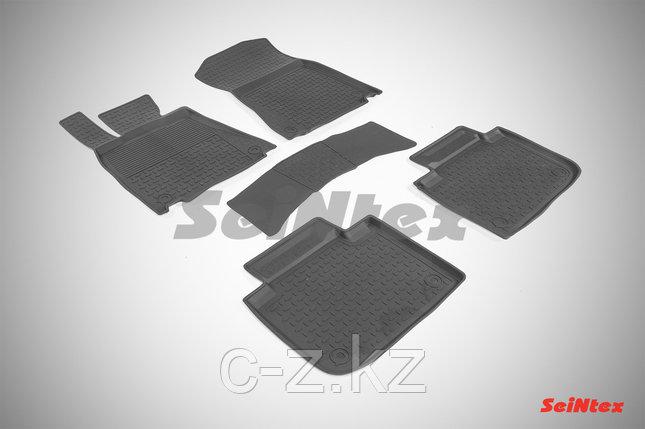 Резиновые коврики с высоким бортом для Lexus GS IV 2015-н.в., фото 2