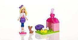 MegaBloks 80202 Barbie Домашний любимец Барби