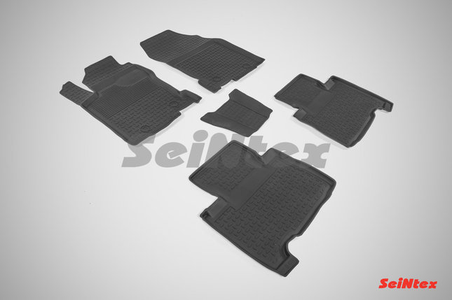 Резиновые коврики с высоким бортом для Lexus NX 2014-н.в., фото 2