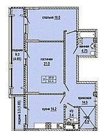 2 комнатная квартира в ЖК  Эльбрус 81.4 м², фото 1