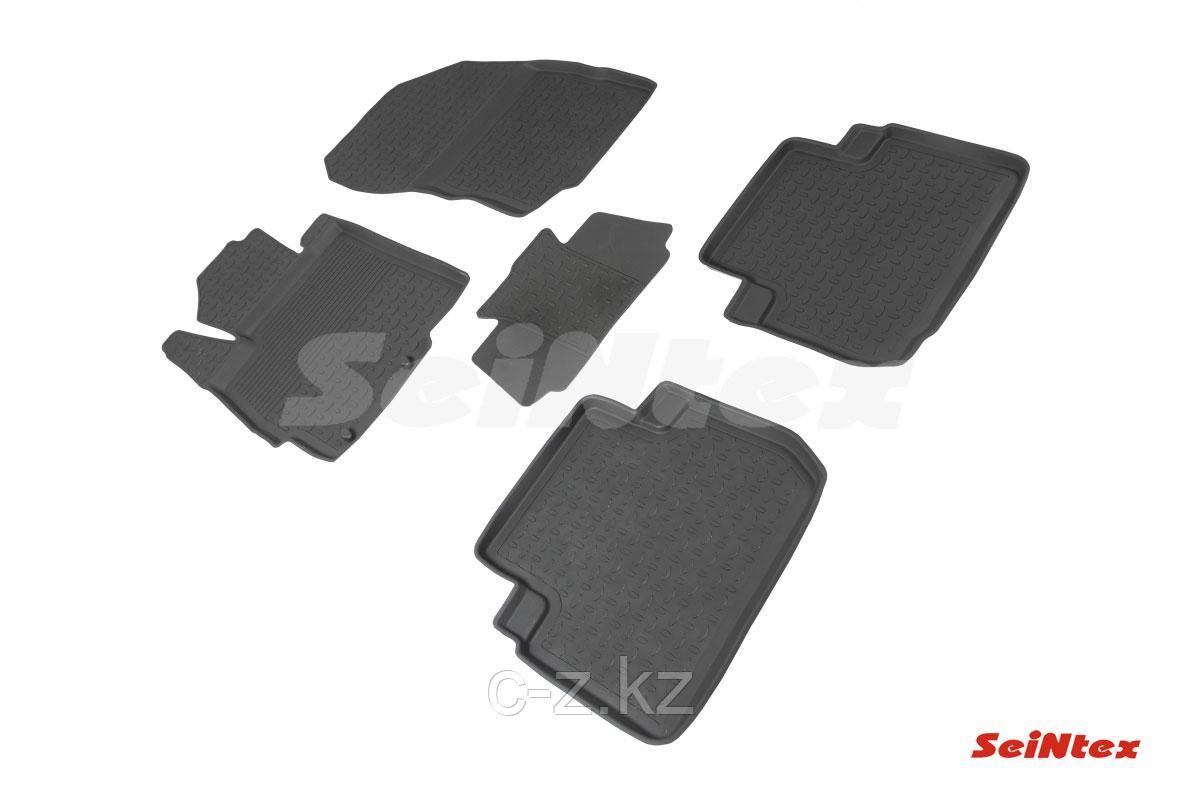 Резиновые коврики с высоким бортом для Mitsubishi ECLIPSE CROSS 2017-н.в.