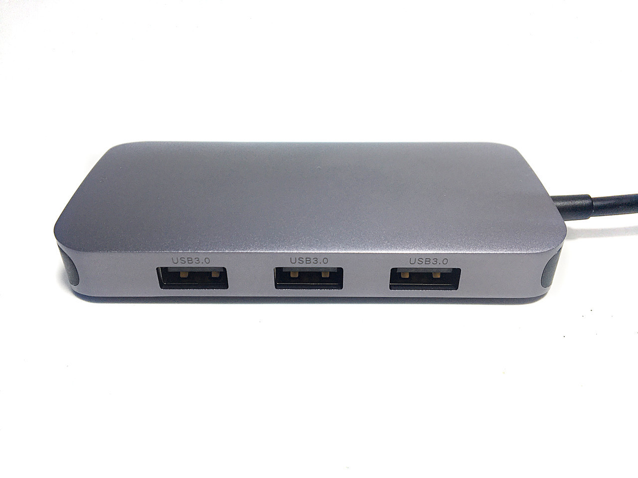 Хаб USB-C - 1x VGA, 3x USB 3.0, 1х USB-C (конвертор портов)