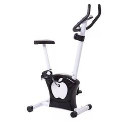 Велотренажер вертикальный магнитный, черный, (6017)