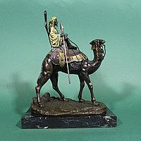 Скульптурная композиция «Бедуин на верблюде» Agathon Leonard (1821-1877)