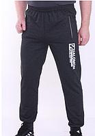 Спортивные брюки темные серый демисезонные