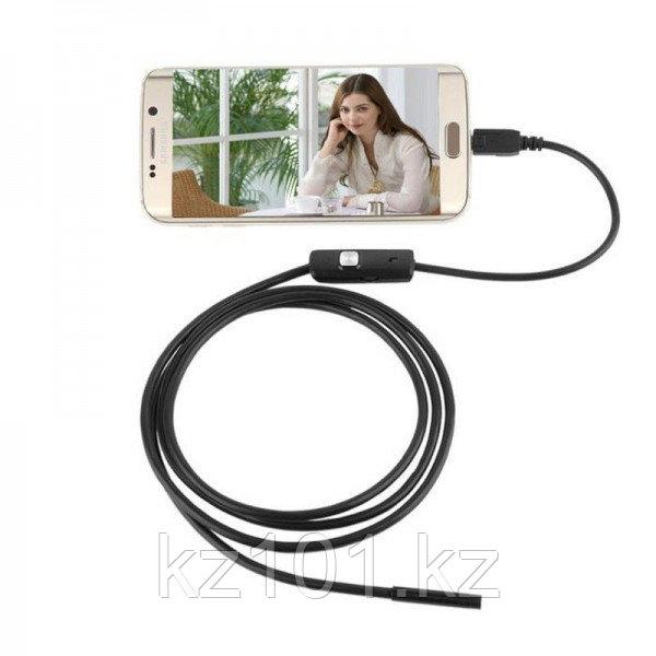 Эндоскоп водонепроницаемый 2м/5м для Android и ПК