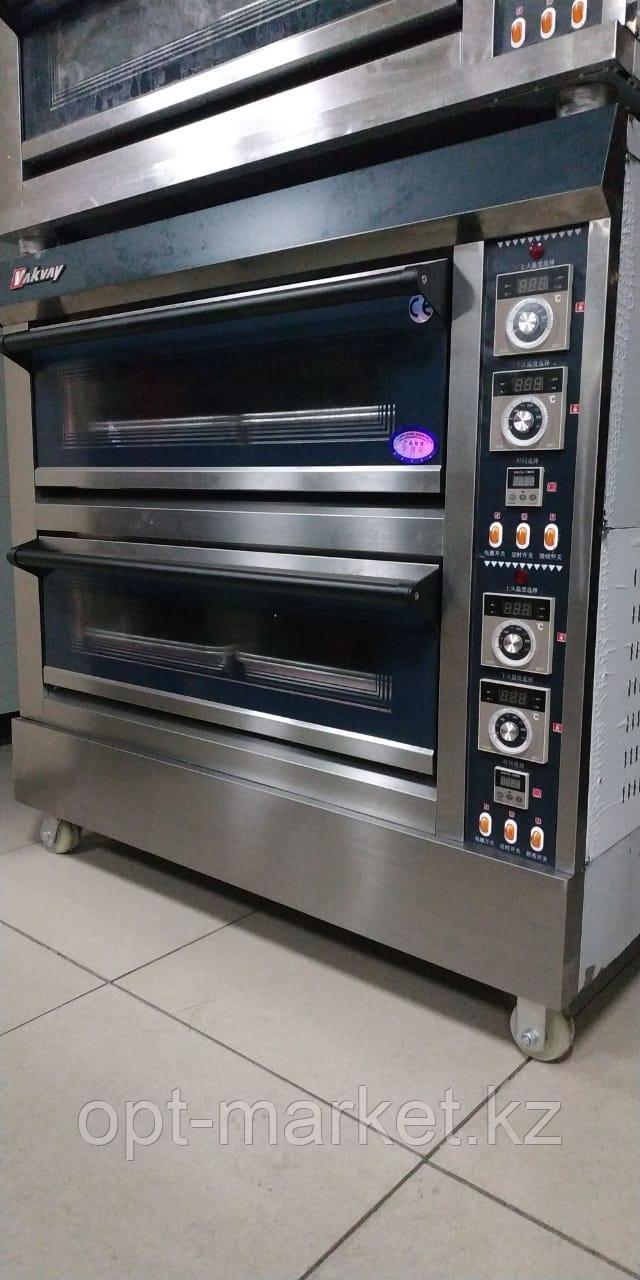 Пекарская печь газовая - 2 яруса на 4 противней