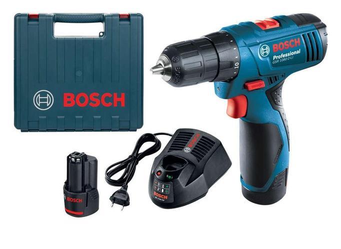 Аккумуляторная дрель-шуруп. GSB 1080-2-LI, BOSCH / BOSCH, Drill cordless GSB 1080-2-LI (50138486)