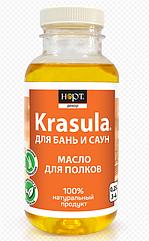 Масло для защиты полок в бане и сауне КРАСУЛА с натуральным воском (0,25 кг)