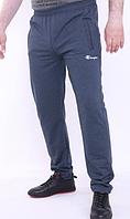 Спортивные брюки синий меланж