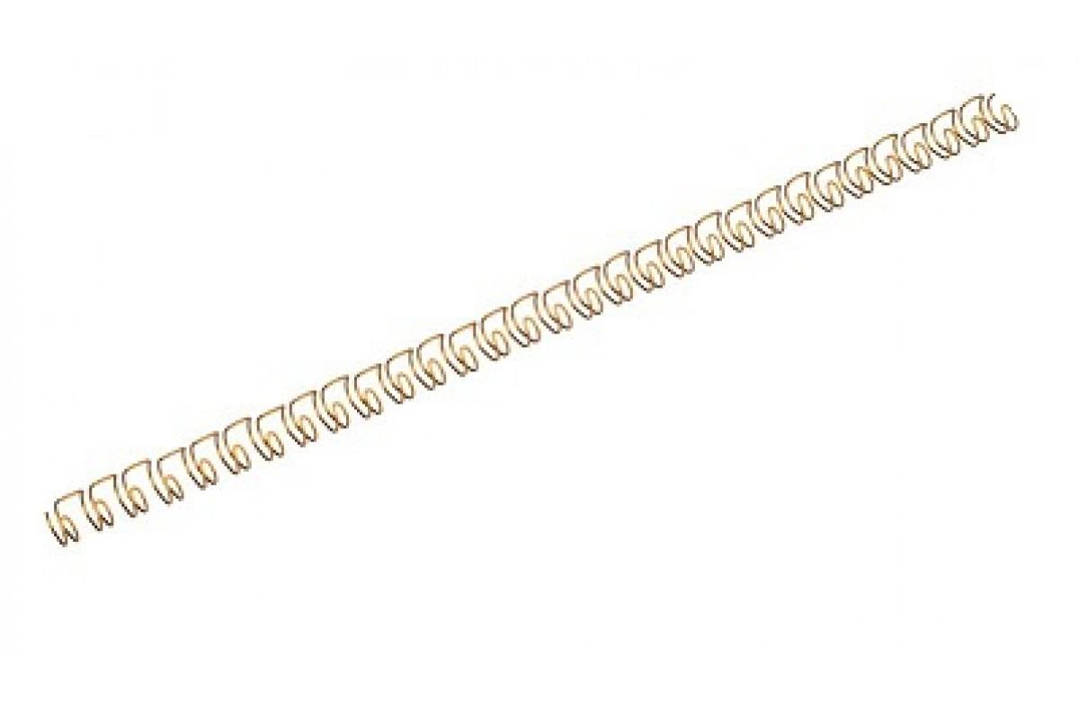 "Переплетная пружина QP 3:1 A4 size 3/8"" (9,5мм/65, 100шт, металл, Silver)"