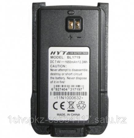 Аккумулятор HYT BL-1719 для HYT TC-508/518, фото 2