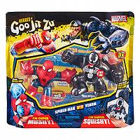 Гуджитсу 38390 Игр.набор тянущихся фигурок Человек-Паук и Веном.ТМ GooJitZu