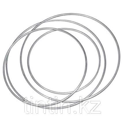 Гимнастический обруч 80 см, 320 грамм, алюминиевый, фото 2