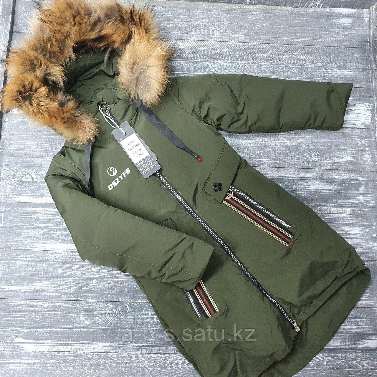 Куртка в цвете хаки (зима)