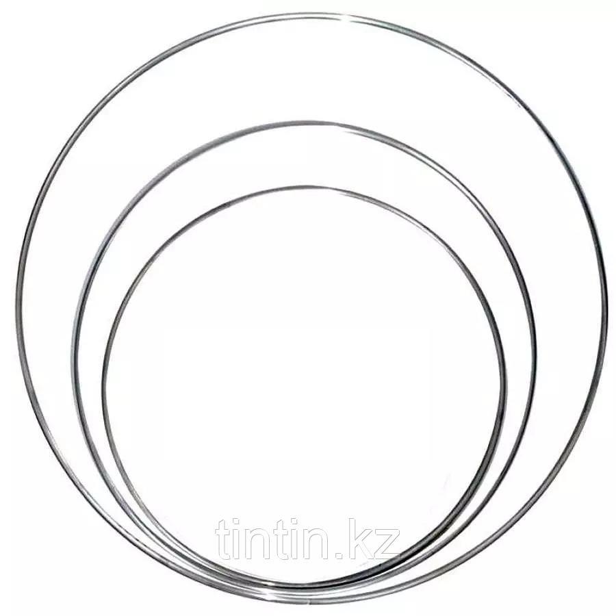Гимнастический обруч 90 см, 640 грамм, стальной
