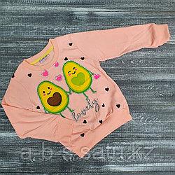 Свитшот Авокадо розовый