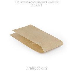 Уголок для хот-дога со складкой, крафт 90*30*185 мм (2500шт/уп)