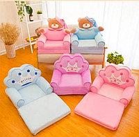 Детские мягкие кресла на любой вкус