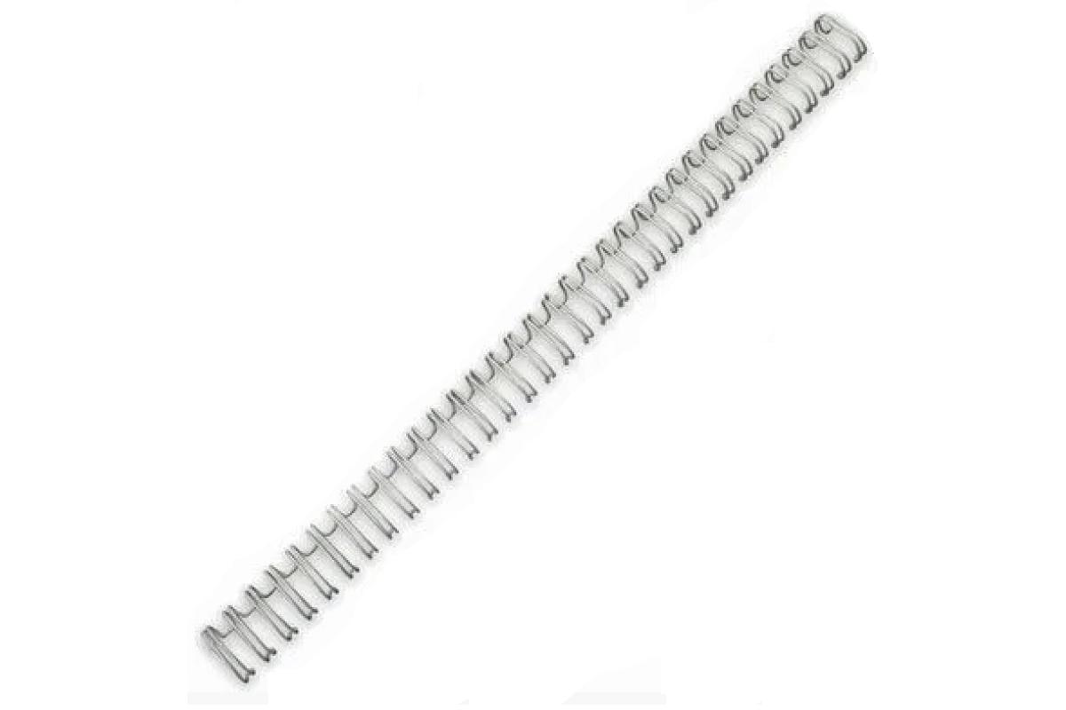 "Переплетная пружина iBind 3:1 A4 size 3/8"" (9,5мм/65, 100шт, металл, White)"