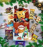 """Новогодний подарок с конфетами для детей """"бычок"""""""