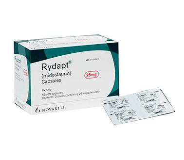 Ридапт (Rydapt) Мидостаурин (Midostaurin) 25 мг 112 капсул (Европа-Германия))