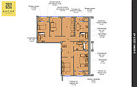 5 комнатная квартира 122.5 м², фото 1