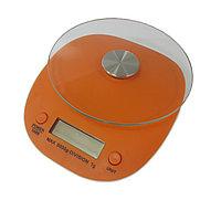 Весы парикмахерские электронные для краски # 7-42 стекло + пластик круглые в асс (1 гр-5 кг) №102061