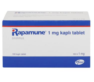 Рапамун (Rapamune) сиролимус (sirolimus) 1 мг (Европа)