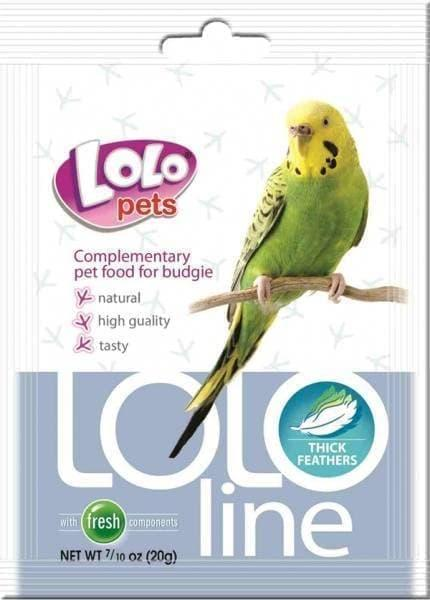 """Витамины Lolo Pets Lololine """"Густые перья"""" для волнистых попугаев, 20 гр."""